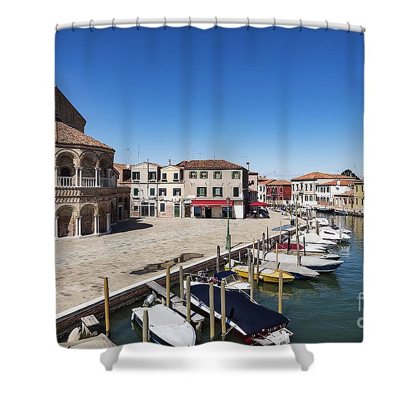 Murano Italy Shower Curtain