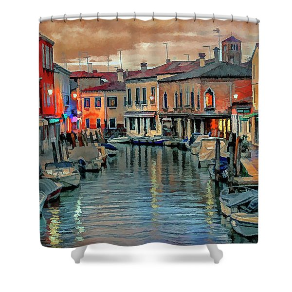 Murano Twilight Shower Curtain