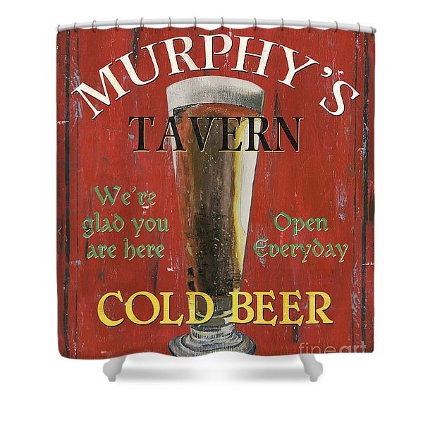 Murphy's Tavern Shower Curtain