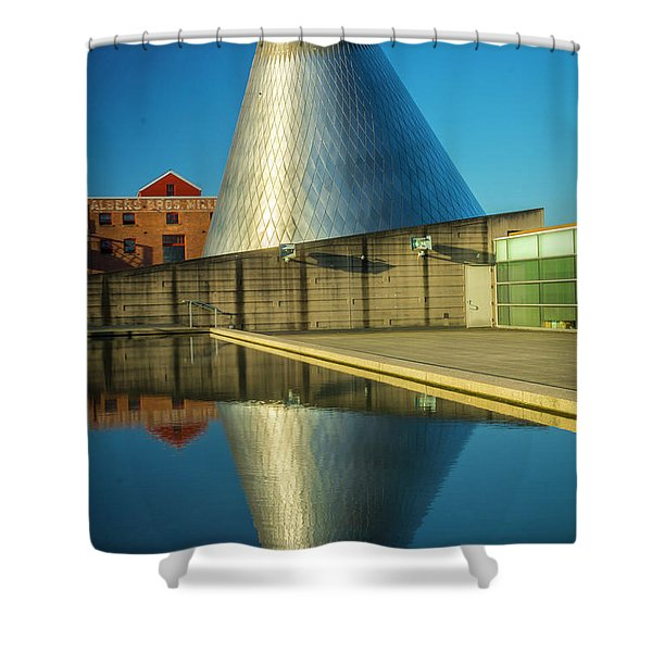 Museum Of Glass Tower Shower Curtain