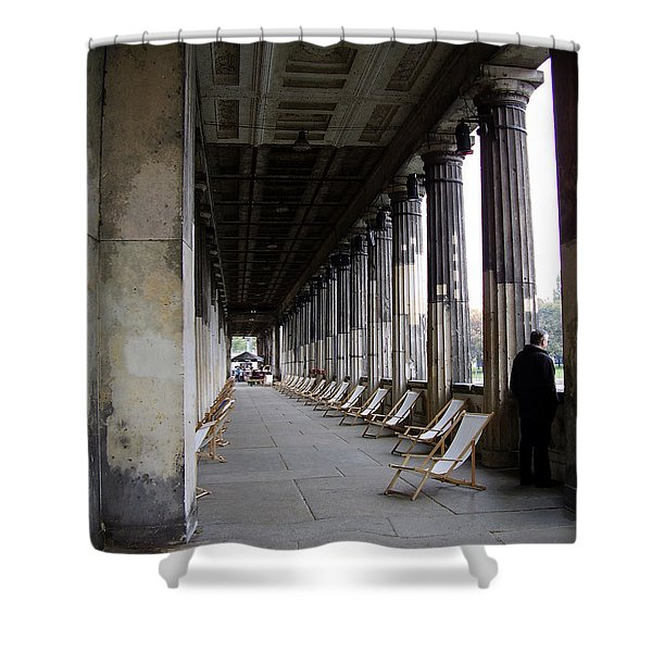 Museumsinsel Shower Curtain