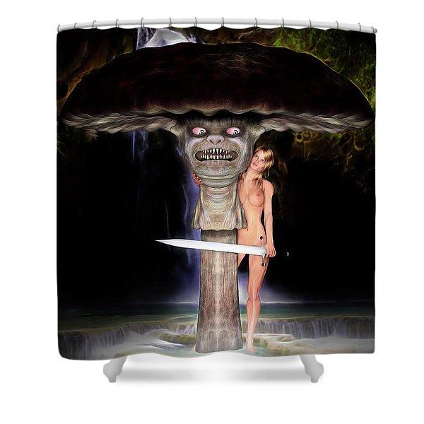 Mushroom Stew Shower Curtain