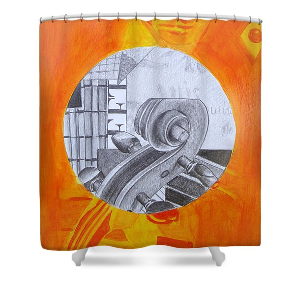 Music 3 Shower Curtain
