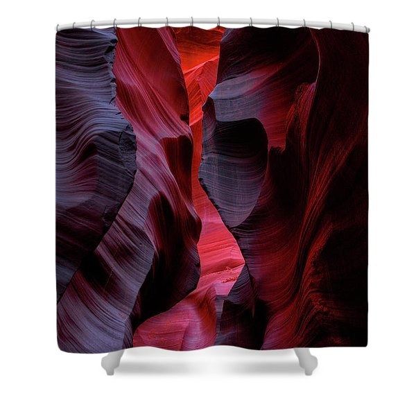 Music, Frozen In The Rocks 5 Shower Curtain
