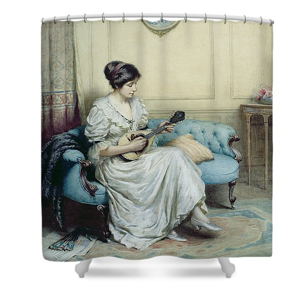 Musical Interlude Shower Curtain