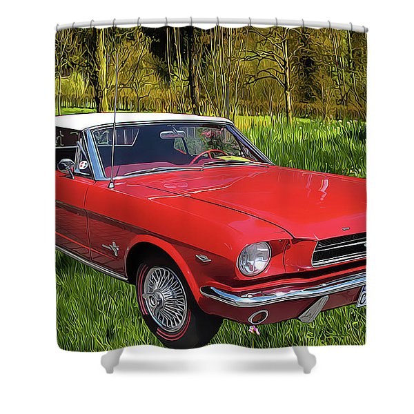 Mustang Shower Curtain