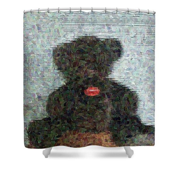 My Bear Shower Curtain
