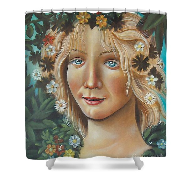 My Botticelli Shower Curtain