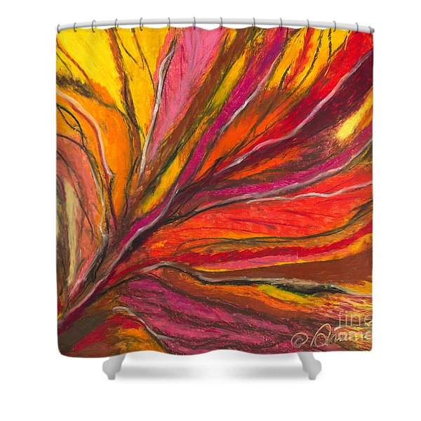 My Fever Burns Shower Curtain