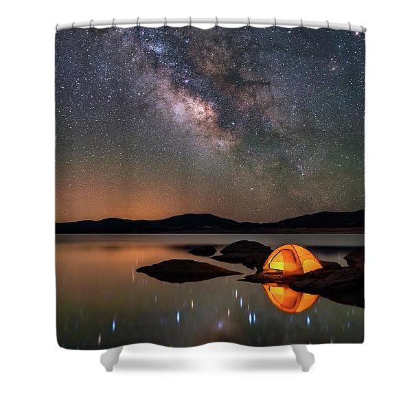 My Million Star Hotel Shower Curtain