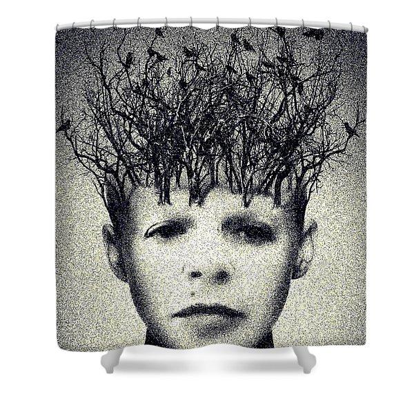 My Mind Shower Curtain