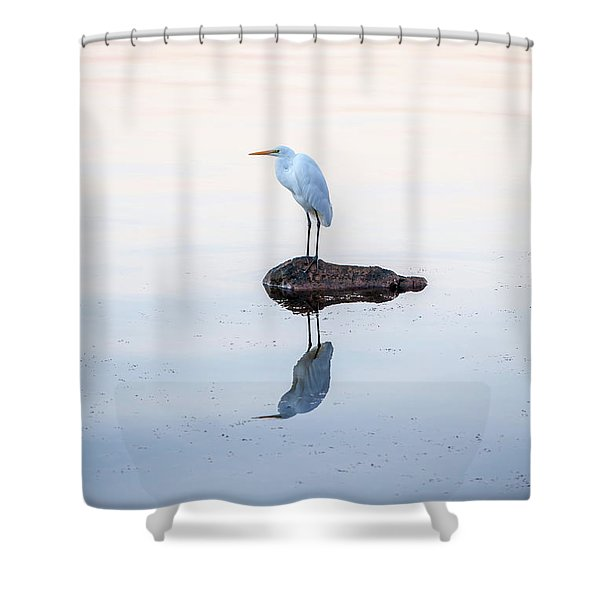 My Own Private Island Shower Curtain
