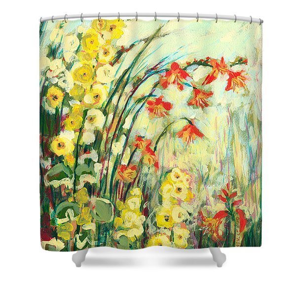 My Secret Garden Shower Curtain