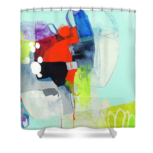 My Voice Is Strong Shower Curtain