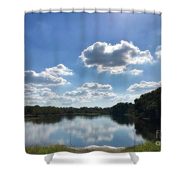 Myakka River State Park Shower Curtain