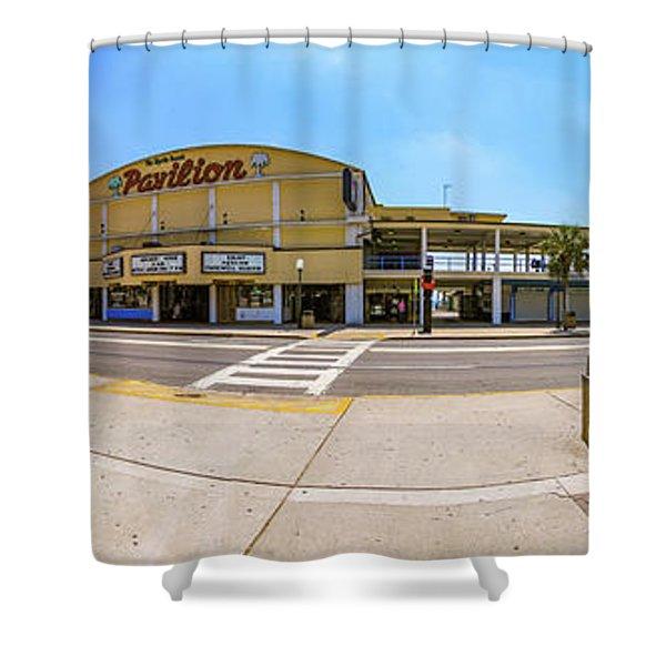 Myrtle Beach Pavilion Building Shower Curtain