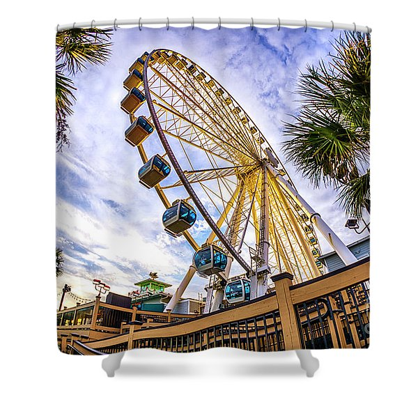 Myrtle Beach Sunset Shower Curtain