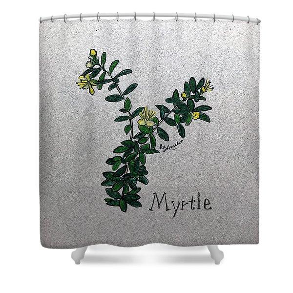 Myrtle Shower Curtain