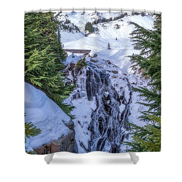 Myrtle Falls Shower Curtain