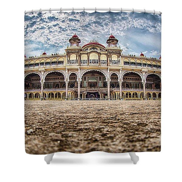 Mysore Palace Shower Curtain