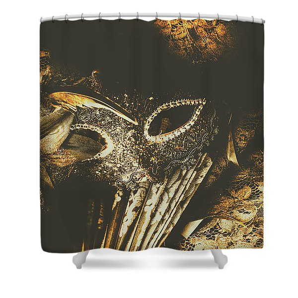 Mysterious Disguise Shower Curtain