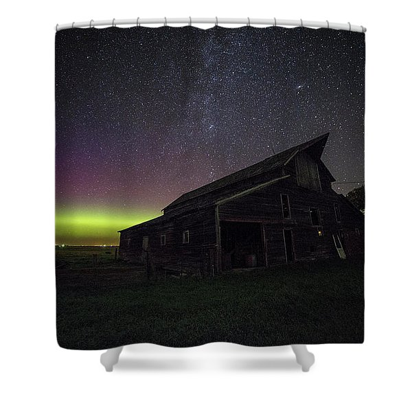 Mysterious Lights Shower Curtain