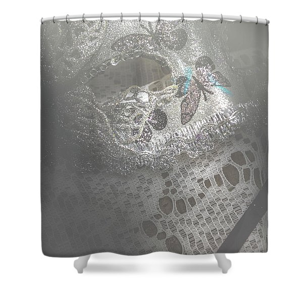 Mysterious Pantomime Play  Shower Curtain
