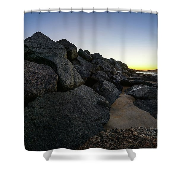 Mystic Beach Shower Curtain