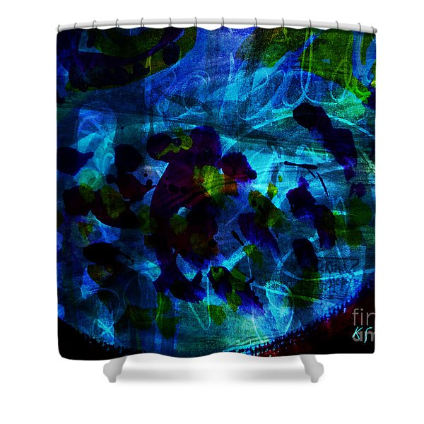 Mystic Creatures Of The Sea Shower Curtain
