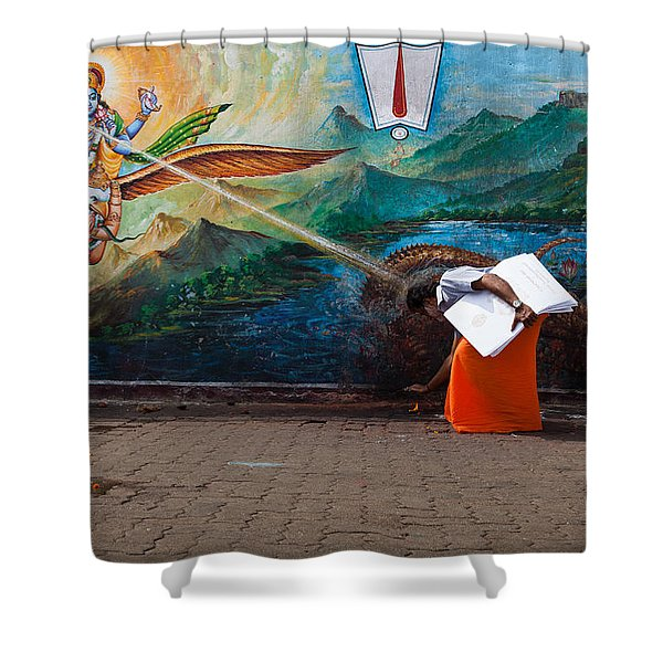 Mystic Ray Shower Curtain