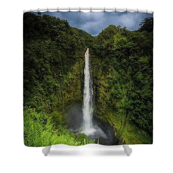 Mystic Waterfall Shower Curtain