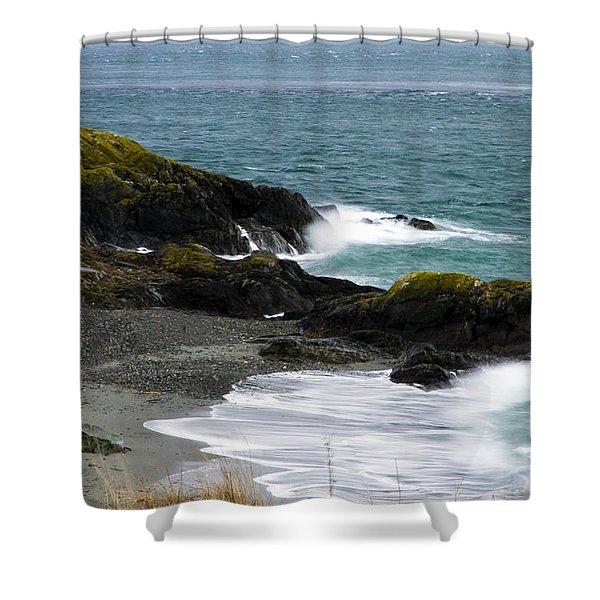 Mystic Wave Shower Curtain
