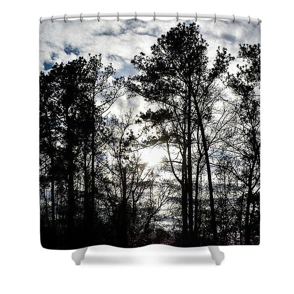 Mystic Wilderness Shower Curtain