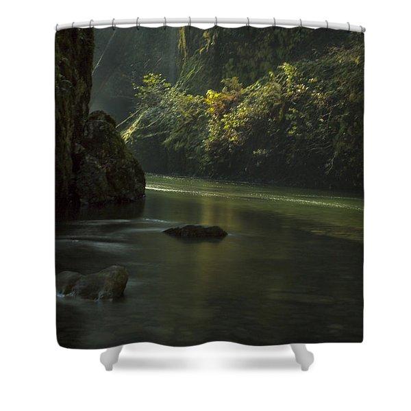 Mystical Canyon Shower Curtain