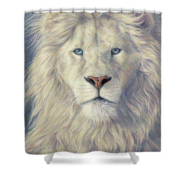 Mystical King Shower Curtain