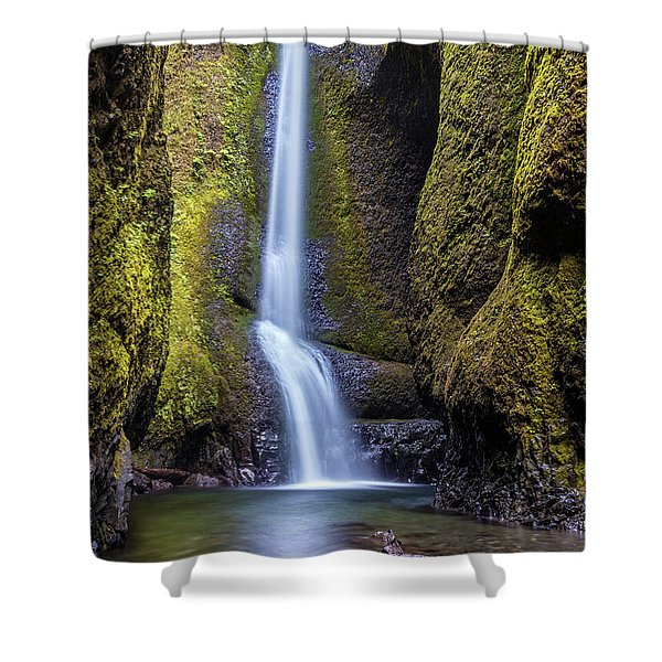 Mystical Oneonta Falls Shower Curtain