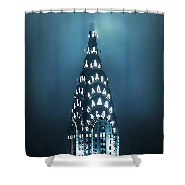 Mystical Spires Shower Curtain