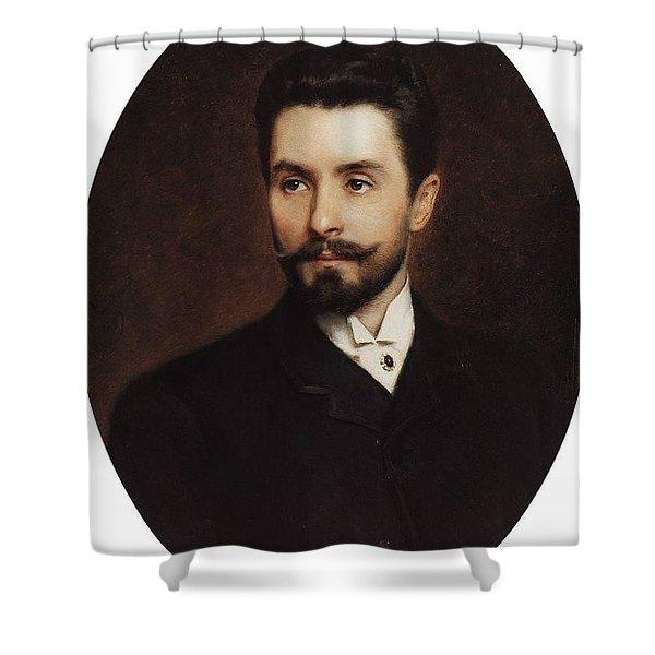 N Fitner Opera Signer Konstantin Makovsky Shower Curtain
