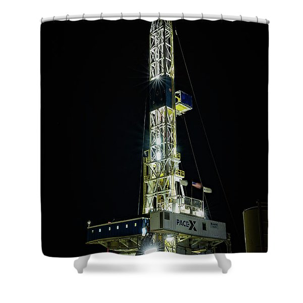 Nabors X09 Shower Curtain