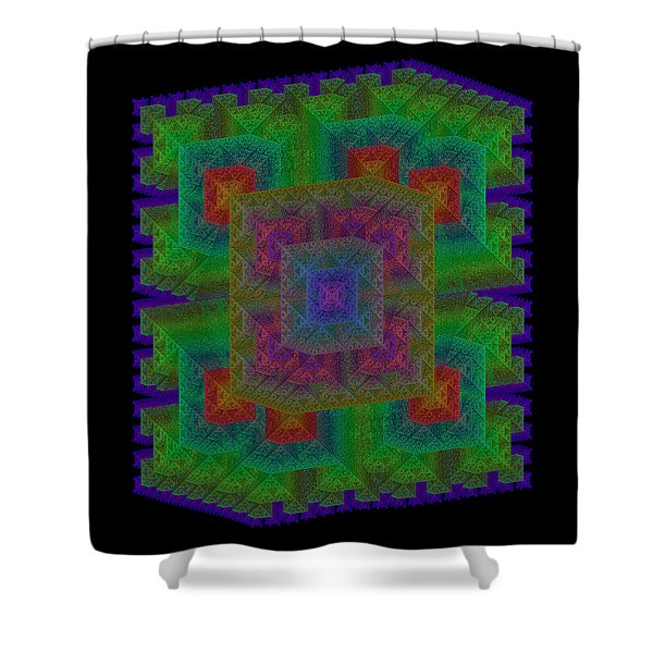 Nadiations Shower Curtain