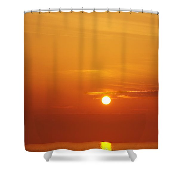 Nago Sunset Okinawa Japan Shower Curtain