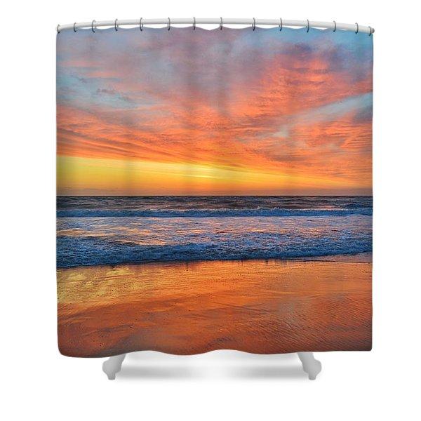 Nags Head Sunrise  Shower Curtain