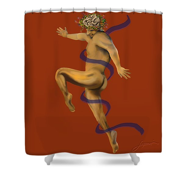Naked Dancer #4 Shower Curtain