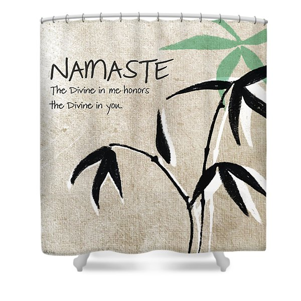 Namaste Shower Curtain