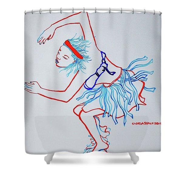 Namibian Traditional Dance Shower Curtain