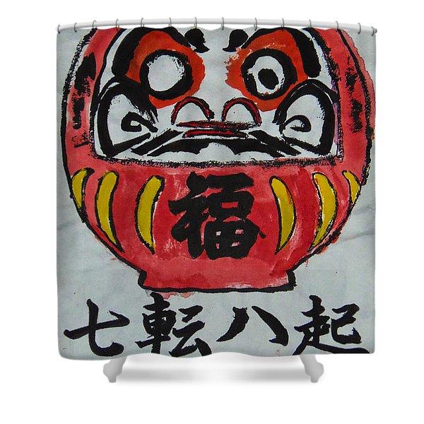 Nana Korobi Ya Oki Shower Curtain