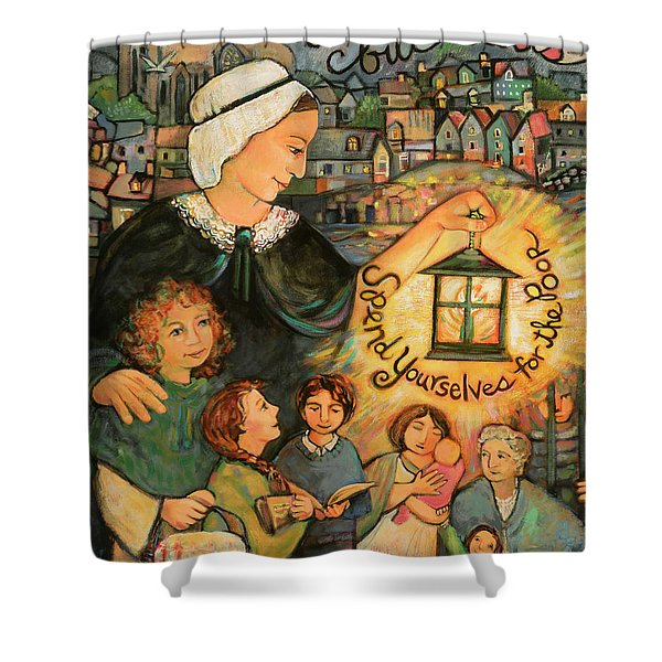 Nano Nagle, Foundress Of The Sisters Of The Presentation Shower Curtain