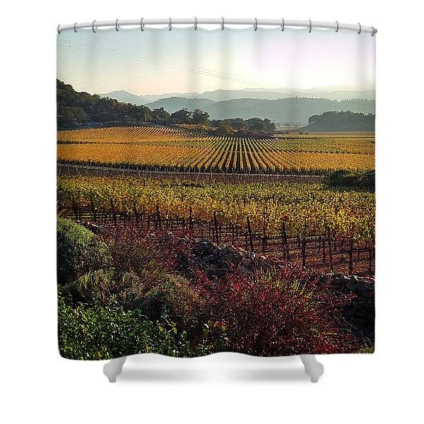 Napa Valley California Shower Curtain
