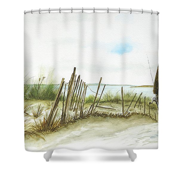 Napatree Point Watch Hill, Ri Shower Curtain