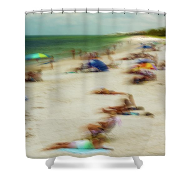 Naples Florida Shower Curtain